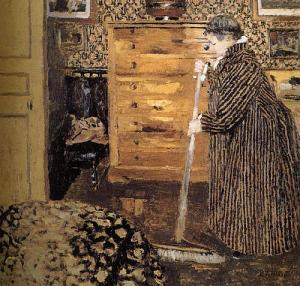 Vuillard-WomanCleaning